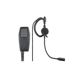 Micrófono (Mini Boom) con audífono.