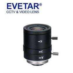 EVETAR EVD08016VIR - LENTE DE 1/2 DE 8 -16 MM / APERTURA F1.6/ MONTAJE C/ 22.8-45 GRADOS (HOR)