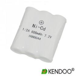 Batería Ni-Cd 600 mAh para SP10/50.