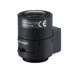 TAMRON 13VG308AS- LENTE JAPONES AUTOIRIS DC VARIFOCAL DE 3.0 A 8.0 MM