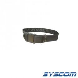 Cinturón universal de seguridad, cordura color negro.