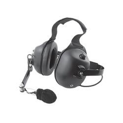 Auricular con atenuación ruido. Requiere cable serie MC-EM según el modelo del radio.