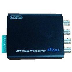 SAXXON UTP104PB1- TRANSCEPTOR PASIVO DE 4 CANALES HASTA 300MTS/ CABLE UTP CAT5e/NTSC