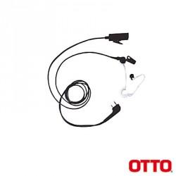Kit de Micrófono-Audífono profesional de 2 cables para ICOM ICF3003/4003/3013/4013/3021/4021