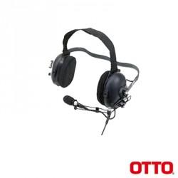 Diadema Heavy Duty sobre la cabeza para ICOM ICF50/60/50V/60V/3161/4161