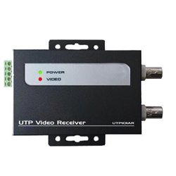 UTP101ARB2- RECEPTOR ACTIVO DE VIDEO/ 2 SALIDAS BNC/ ALCANCE HASTA 600MTS/ 12VDC