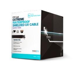 Cable Cat6 Exterior Blindado tipo FTP Para Climas Extremos .
