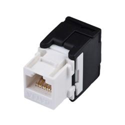 Conector jack modular para cable UTP categoría 6A