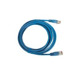 Cable Estruturado Patch Cord UTP Azul CAT5e 1.0m.