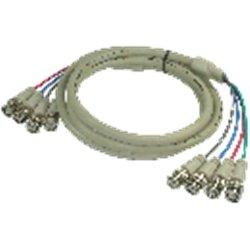 A4BNCMM3- CORDON DE PARCHEO DE 4 CONECTORES BNC MACHO A MACHO