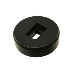 Base para terminaciones de módulos punchdown - Negro