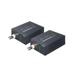 Kit Transmisor y Receptor High PoE sobre coaxial a 1KM
