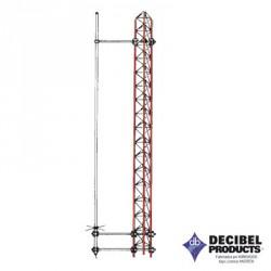 Montaje Lateral para Instalar Antenas de Fibra de Vidrio ANDREW a una Distancia entre 45 y 210 cm de la Torre.