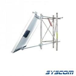 Montaje para torre serie SST de 30 mts., tipo sooporte, para modelos de celdas solares KC85T/KC125TN/STP85/SW112/SW/85.