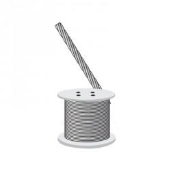 """Cable de retenida 1/4"""", 2160 kg de resistencia."""