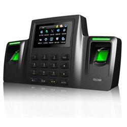 ZK DS100- CONTROL DE ASISTENCIA BIOMETRICO/ 2 SENSORES DE HUELLA/ 3000 HUELLAS/ 100000 REGISTROS/ SD / USB