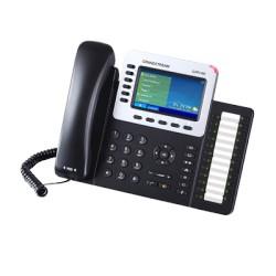Teléfono IP GrandStream PoE Empresarial para 6 líneas