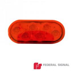 Luz Perimetral Serie 3K-LED. En color rojo.Luz Perimetral Serie 3K-LED. En color rojo.