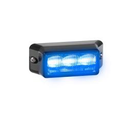 Luz auxiliar IMPAXX de 3 LEDs. Color Azul.
