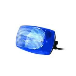 Luz Estroboscópica Frontal para Motocicletas. Color Azul.