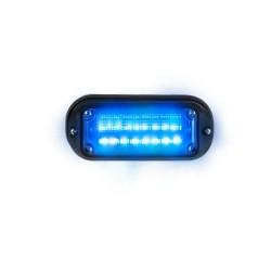 Luz auxiliar Viper EXT de 8 LEDs, Color Azul
