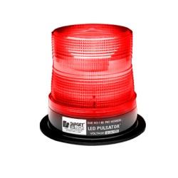 Burbuja Pulsator LED clase 2 color rojo, montaje permanente.