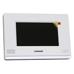 COMMAX aCDV1020AQ- MONITOR COLOR 10 PULGADAS/ SOPORTA 2 CAMARAS CCTV & 2 FRENTES CALLE & 4 TELEFONOS aCDT180
