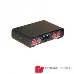 Controlador de lujo para Signalmaster de 6 u 8 módulos, 12 ó 24 Vcd, 14 patrones de destello seleccionables por el instalador.