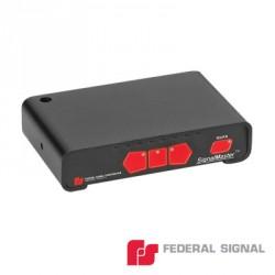 Controlador básico para Signalmaster de 6 u 8 módulos, 12 ó 24 Vcd, 7 patrones de destello seleccionables por el instalador.
