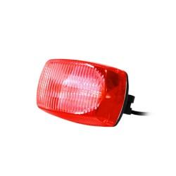 Luz auxiliar de 3 LEDs. Rojo.