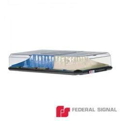 Barra de Luces HIGHLIGHTER LED SOLARIS con Montaje de Succión e Imán (dos colores, domo claro)(Azul-Claro)