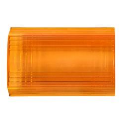 Inserto color Ámbar para estrobo de torreta 530112.