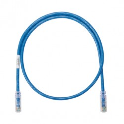 NetKey Copper Patch Cord, Category 6, Blue UTP Cable, 14 Feet