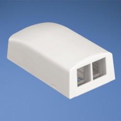 NetKey 2-port surface mount box