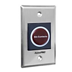 Botón de salida sin contacto