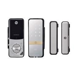 Cerradura Digital Electrónica GATEMAN YDG313 para Puertas de Vidrio con Contrachapa