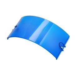 Lente azul para torreta de halógeno.