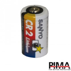 Batería de 3 Vcd 750 mAh únicamente para contactos magnéticos PIMA inalámbricos