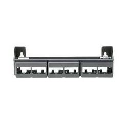 MINIPANEL DE PARCHEO PARA PARED (VACIO) PARA 12 JACKS MINICOM INCLUYE WALL BRACKET