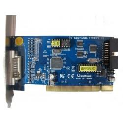 GEOVISION GV800B- TARJETA CAPTURADORA 8 CANALES DE VIDEO/ 120FPS /MPEG4/ 4 CANALES DE AUDIO PCI - EXPRESS
