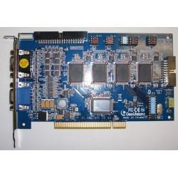 GEOVISION GV800D16- TARJETA CAPTURADORA 16 CANALES DE VIDEO&4CANALES DE AUDIO/ 120FPS/ COMPRESION GEO H264/ PUERTO PCI-E