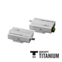Transmisor Activo de 1 Canal, (Distancia de video Máx. 1200 m con receptor activo).