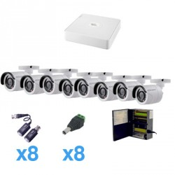 Sistema LEGEND TURBOHD 720P de 8 canales