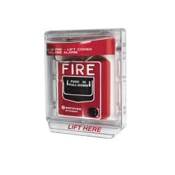 Acrilico protector de palanca de incendio