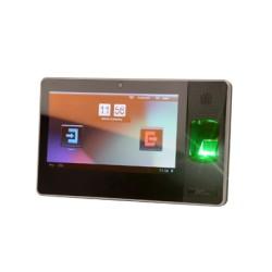 Avanzado sistema Multimedia para Tiempo y Asistencia con biometria y lector de proximidad integrado.