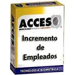 ACCESO 50EMP- INCREMENTO DE 50 EMPLEADOS ADICIONALES PARA SOFTWARE ACCESO VERSION ESTANDAR Y PROFESIONAL