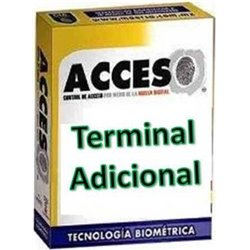 ACCESO ZKLECTOR- ACTIVACION PARA LECTOR ZK ADICIONAL A LA PRIMERA/COMPATIBLE CON ACCESO VERSION ESTANDAR Y PROFESIONAL