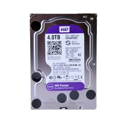 Disco duro SATA 4TB serie WD PURPLE optimizado para CCTV, 5400RPM, 24/7