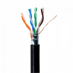 Bobina de cable de 305 metros, tipo FTP Cat5e