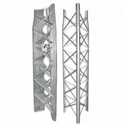 Torre Autosoportada Ligera TBX de 6 Secciones Prearmadas de 14.6m de Altura.